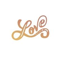 Εικόνα του Μήτρα Κοπής Intricutz Cutting Dies - Love Letters