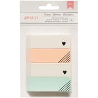 Εικόνα του Designer Desktop Essentials Erasers - Gold Heart