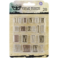 Picture of Mechanicals Metal Embellishments - Roman Numerals