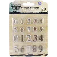 Picture of Mechanicals Metal Embellishments - Mini Numbers