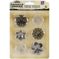 Picture of Mechanicals Metal Embellishments - Medium Flowers
