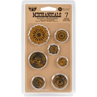 Picture of Mechanicals Metal Embellishments - Rustic Washers