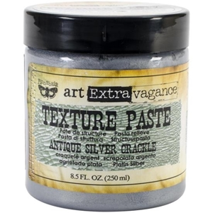 Picture of Finnabair Art Extravagance Texture Paste 8.5oz - Antique Silver Crackle