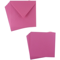 Εικόνα του Sweet Dixie Card and Envelope Packs - Fuchsia Square
