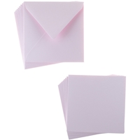 Εικόνα του Sweet Dixie Card and Envelope Packs - Pink Square