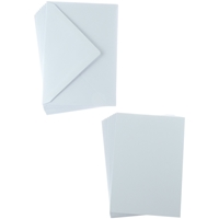 Εικόνα του Sweet Dixie Card and Envelope Packs - White A6