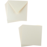 Εικόνα του Sweet Dixie Card and Envelope Packs - Natural Square
