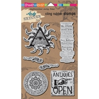 Picture of Stampendous Andy Skinner Σετ Σφραγιδες Cling - Curiosity