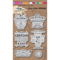Picture of Stampendous Andy Skinner Σετ Σφραγιδες Cling - Shabby Chic