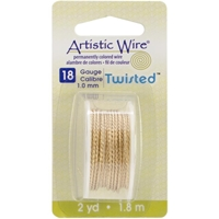 Εικόνα του Artistic Wire Twisted - Non Tarnish Brash