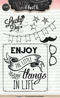 Picture of Clear Stamps - Chalk Effect 101