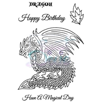 Picture of Clear Stamp  A6 - Dragon