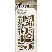 Εικόνα του Layering Stencil Numeric - Tim Holtz
