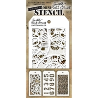Εικόνα του Tim Holtz Mini Layered Stencil - Set 2