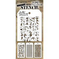 Εικόνα του Tim Holtz Mini Layered Stencil - Set 7