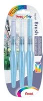 Picture of Pentel Aquash Water Brush Pens - Pack of 3