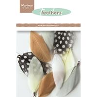 Εικόνα του Marianne Design Feathers Decoration: Natural