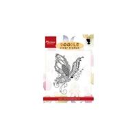 Εικόνα του Doodle Clear Stamps - Butterfly