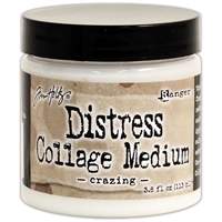 Picture of Tim Holtz Distress Collage Medium - Crazing