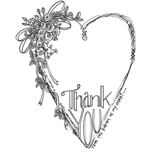 Picture of Spellbinders Stamps - Thank You