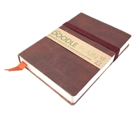 Εικόνα του Artway Doodle Leather Bound Journal - Chestnut