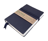 Εικόνα του Artway Doodle Leather Bound Journal - Navy