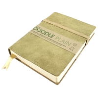 Picture of Artway Doodle Leather Bound Journal - Sand