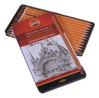 Εικόνα του Professional Graphite Drawing Pencil Set