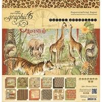 Εικόνα του Μπλοκ Χαρτιων Graphic 45 30.5X30.5 - Safari Adventure