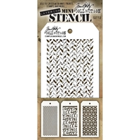 Εικόνα του Tim Holtz Mini Layered Stencil - Set 13