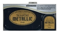 Εικόνα του Μελάνι StazOn Metallic Solvent Ink Kit - Gold