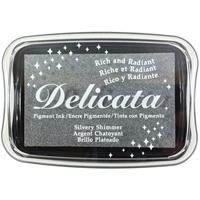 Εικόνα του Μελάνι Delicata Pigment Ink Pad - Silvery Shimmer