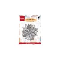 Εικόνα του Doodle Clear Stamps - Poinsettia