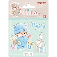 Εικόνα του My Little Star Clear Stamps - Happy