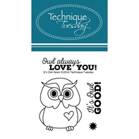 Picture of Σετ Σφραγίδες Clear - It's Owl Good