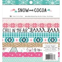 Εικόνα του Crate Paper Paper Pad 15Χ15 - Snow & Cocoa