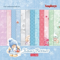 Εικόνα του Xmas Berries Paper Pack 15X15