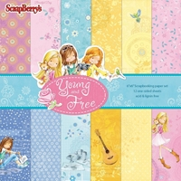 Εικόνα του Young And Free Paper Pack 15X15