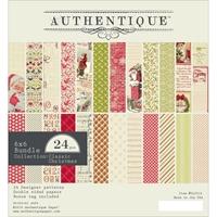Εικόνα του Authentique Double-Sided Cardstock Pad 6X6 - Classic Christmas