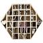 """Εικόνα του Ξυλινα Γραμματα (168 τεμ) - Wood Alphas 1"""""""