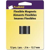 Εικόνα του ProMag Flexible Round Magnets - Μαγνητάκια