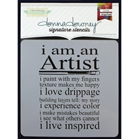 Picture of Donna Downey Signature Stencils - Artist