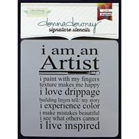 Εικόνα του Donna Downey Signature Stencils - Artist