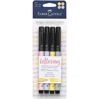 Picture of Faber-Castell Mix & Match PITT Artist Pens Lettering Set - Pastel
