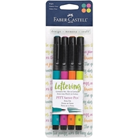 Picture of Faber-Castell Mix & Match PITT Artist Pens Lettering Set - Bright