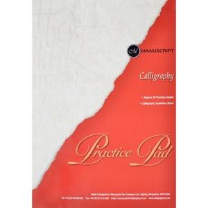 Manuscript Calligraphy Practice Pad Scrapsnpieces