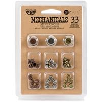 Εικόνα του Μεταλλικά Διακοσμητικά Finnabair Mechanicals - Mini Knobs