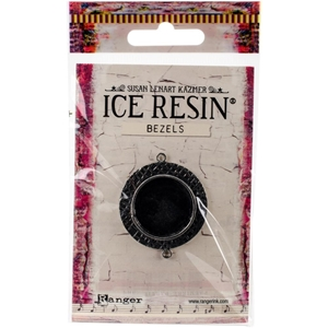 Picture of Ice Resin Milan Bezels - Antique Silver