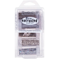 Picture of Stampendous Encrusted Jewel Kit - Silver