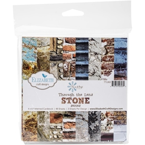 Picture of Through The Lens Paper Pad 15X15 - Stone